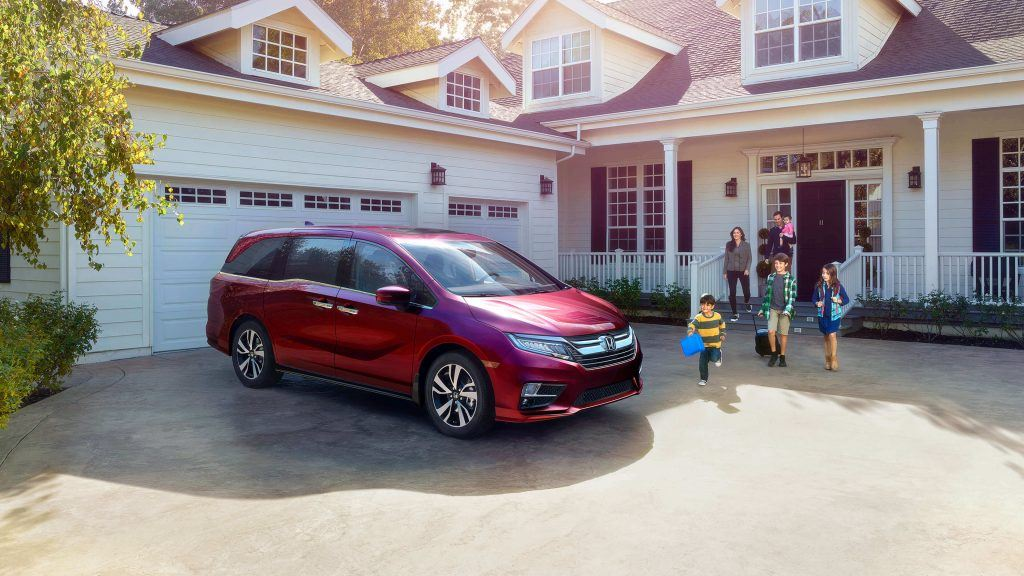 honda odyssey perfect family vehicle
